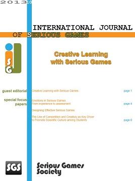 International Journal of Serious Games